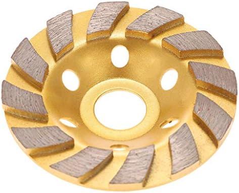 [해외]100mm 4in Diamond Segment Grinding Wheel Disc Bowl Shape Grinder Cup Concrete Stone Ceramics Terrazzo Marble Cut New (Gold) / 100mm 4in Diamond Segment Grinding Wheel Disc Bowl Shape Grinder Cup Concrete Stone Ceramics Terrazzo Mar...