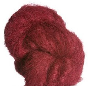 Alpaca Yarn Brushed - Blue Sky Alpacas Brushed Suri Yarn (910 Candied Apple)