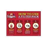 Folgers Classic Roast Filter Packs, Premeasured