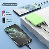 Mini Power Bank,Portable Charger 5000mAh Capacity