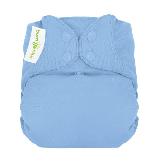 - bumGenius Freetime All-In-One One-Size Snap Closure Cloth Diaper (Twilight)