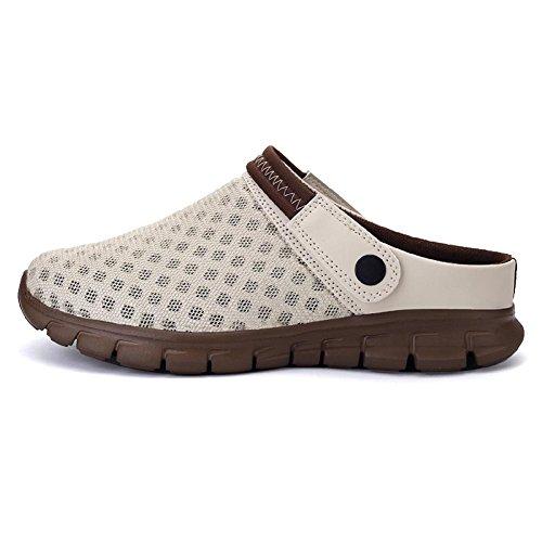 Sabots Mules Pantoufles Super Plage Confortable Chaussures Sport Plage et Pratique de Sabot Adulte Respirante de Mixte Sandales et rr4qw5R