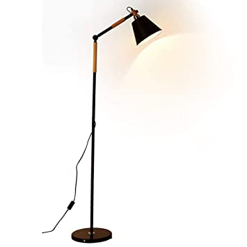Amazon.com: LED Iron Floor Lamp, American Country Living ...