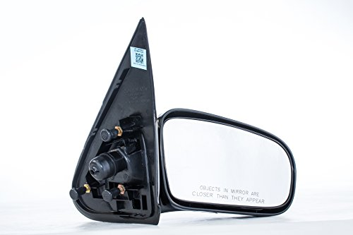 Cavalier Door (Passenger Side Mirror Chevy Cavalier Pontiac Sunfire 4 Door Sedan Unpainted Non-Heated Folding Right Side Rear View Door Mirror(1995 1996 1997 1998 1999 2000 2001 2002 2003 2004 2005))