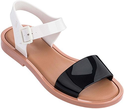 outlet pay with visa Melissa Womens Mar Sandal Brown/White sale reliable outlet free shipping discount amazon quality from china wholesale QtIKlb0
