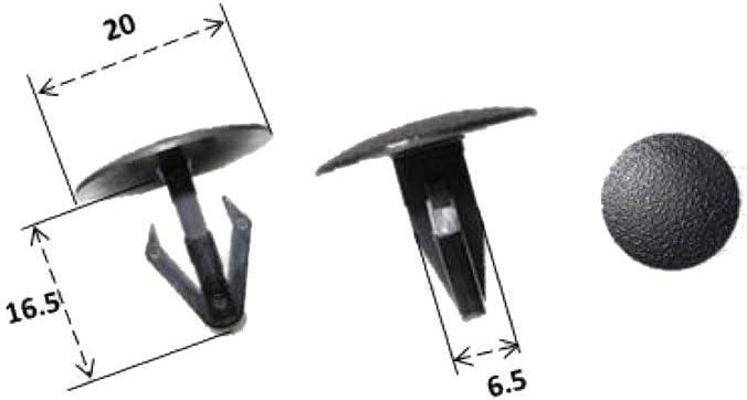 RMS - Remaches de plástico para Honda TRX-VRF 90685 ...