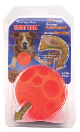 Tricky Treat Ball (Tricky Treats Dog Toy Size: Medium (3.5