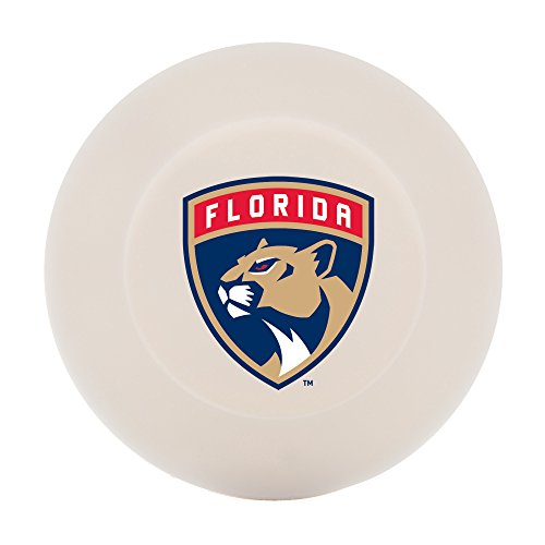 Franklin Sports Florida Panthers Street Hockey Puck - Molded PVC Team Logo Puck for Smooth Surfaces - NHL Official Licensed Product]()