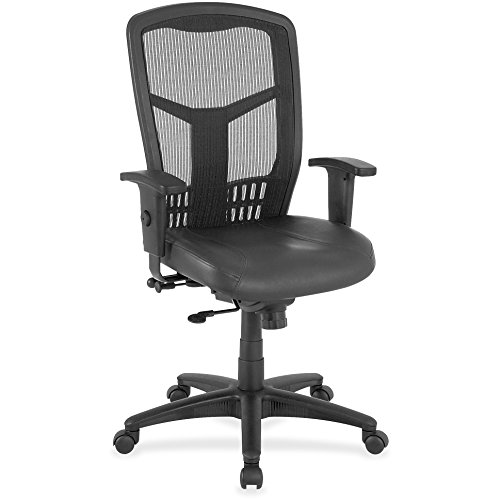 Lorell Executive Chair, Side/Synchronous, 28-Inch by 28-Inch by 45-Inch, Black - Lorell Executive Frame