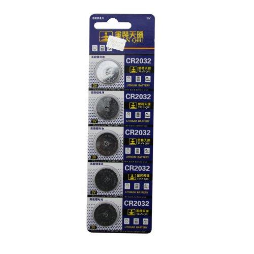 - 2032 Battery (CR2032/ DL2032/ E-CR2032/ SB-T51/ LF1/ 2V) Lithium 3v (1 Pack of 5)