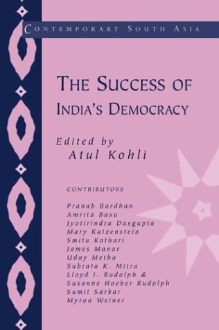 Download The Success of India's Democracy (Contemporary South Asia) pdf