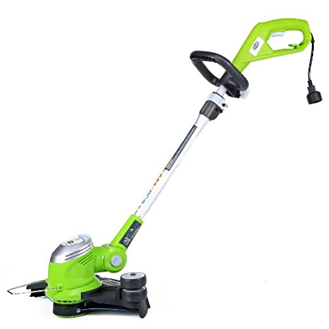 GreenWorks 21272 5.5Amp 15-Inch Corded String Trimmer (Gas Yard Edgers)