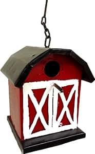 Lucca Decor BH03 Recycled Tin The Bird Barn Bird House