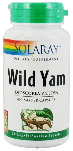 SOLARAY Wild Yam Root капсулы, 400 мг, 100 Граф
