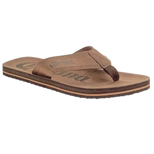 Corona Men's Flip Flop Sanda (S (7-8)) Corona Leather