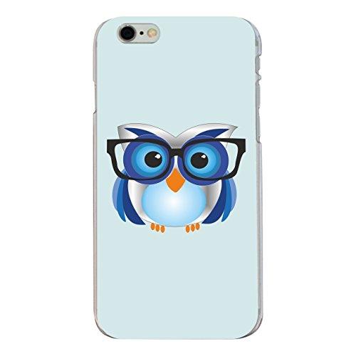 "Disagu Design Case Coque pour Apple iPhone 6s Plus Housse etui coque pochette ""Nerd-Eule"""