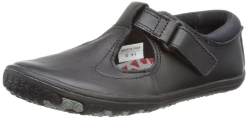 VIVOBAREFOOT Toddler T Bar Black School Shoe VB200006LBLK 9 UK Toddler 3cc4e6ce5270