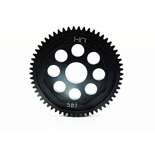 58t Spur Gear (Hot Racing SOFE58M05 Steel 58t 0.5mod Spur Gear - 1/14 Losi Vaterra)