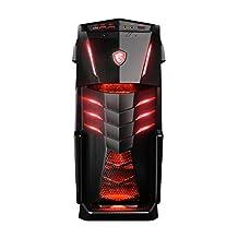 HIDevolution MSI Aegis Ti3 VR7RD-024US HID38 Gaming Desktop i7-7700K w/ IC Diamond Thermal Compound on CPU+GPU – Optimal System Temperatures (DUAL 1080Ti/2T PCIe SSD+ 4TB SSD/64G 2666MHz RAM)