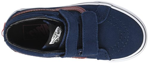 Blues Varios Dress Vans V suede Colores Sk8 mid Brown Zapatillas madder Niños Unisex Reissue qPfF0PwH