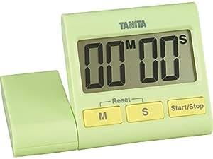 TANITA digital timer 100 minutes in total Green TD-389-GR