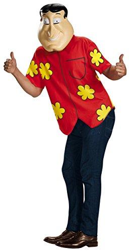Deluxe Quagmire Costume - Medium - Chest Size 38-40
