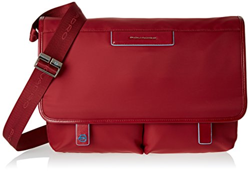 Piquadro Celion Messenger bolso bandolera 39 cm compartimento portátil Laptop Rosso