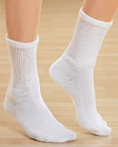 Dr. Scholl's Women's 2 Pack Diabetes Circulatory Comfort Crew Socks