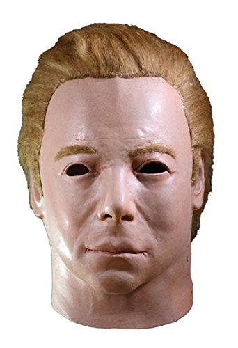 Trick or Treat Studios Star Trek Captain Kirk 1975 Adult Latex Mask Mike Myers
