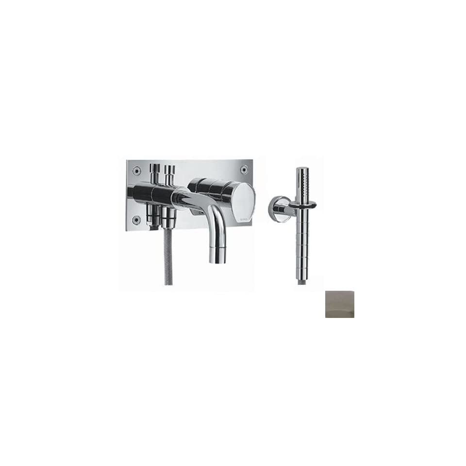 Gyro Wall Mount Tub and Shower Faucet Finish Polished Chrome   Tub And Shower Faucets
