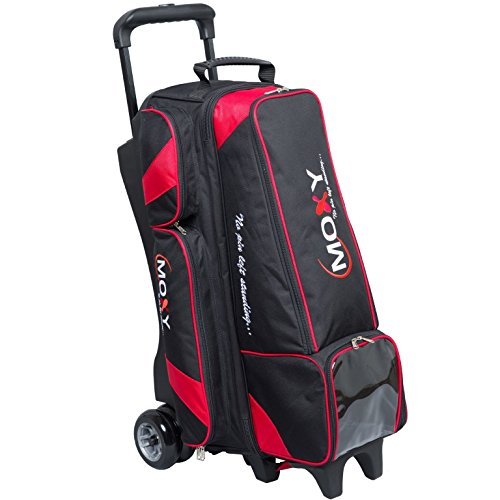 Moxy Dually 4x4 Inline Roller Bowling Bag- Black/Red -
