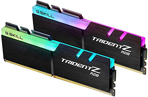 G.Skill Trident Z RGB Series 32GB (2 x 16GB) 288-Pin SDRAM PC4-28800 DDR4 3600MHz CL18-22-22-42 1.35V Desktop Memory Model F4-3600C18D-32GTZR