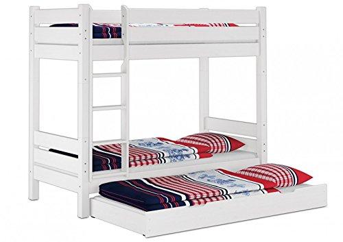 Etagenbett Weiß Erwachsene : Erst holz etagenbett für erwachsene teilbar