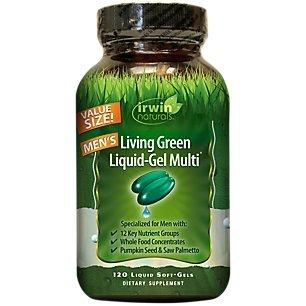 Irwin Naturals Living Green Men Multi Softgels