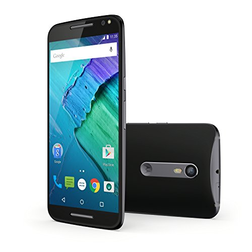 MOTOROLA MOTO X STYLE XT1572 32GB BLACK FACTORY UNLOCKED 4G/LTE SINGLE SIM CELL PHONE