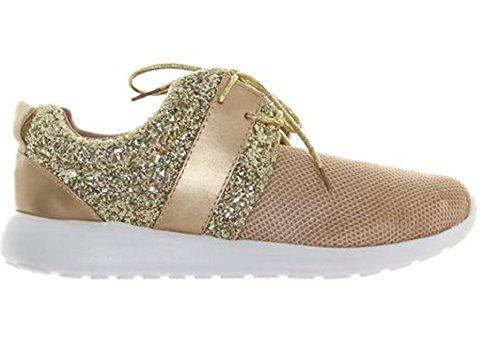 Koo-T ,  Damen Kurzschaft Stiefel Gwen Gold