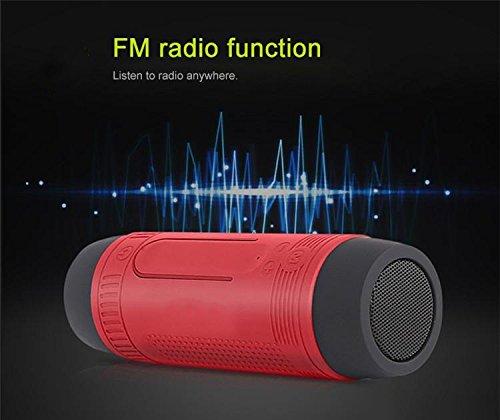 4000ma Wireless Bluetooth Speaker Waterproof Portable Outdoor Stereo Loudspeaker