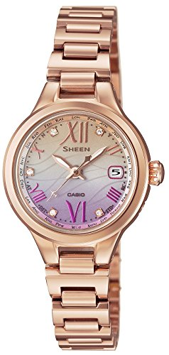 CASIO Ladies Watch SHEEN Voyage Series ~Limited Edition ~ world six stations Solar radio SHW-1700PG-4AJ