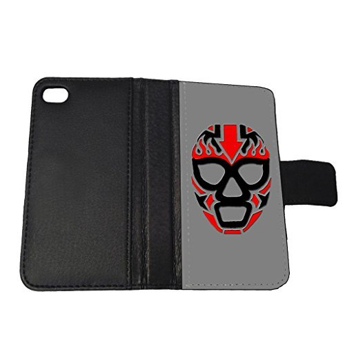 Mexican Wrestling Mask - Apple iPhone 5/5s Billfold Wallet Case (5s Case Wrestling Iphone)