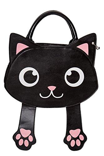 Paws Kitty Handbag Bag Detachable Tricks of Strap Banned Apparel Cat YTIqRR