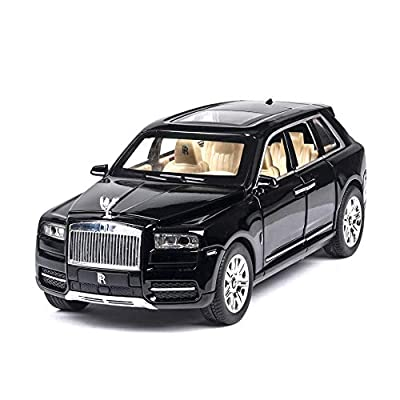 Rolls Royce Cullinan SUV Diecast Metal Car Models, Model car Alloy Car | High Simulation | Scale 1:24 |Colour Red with Box,Black: Home & Kitchen