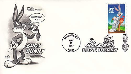 Bugs Bunny - Looney Tunes ArtCraft First Day Cover Cachet 3137 ()