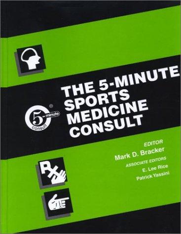 The 5-Minute Sports Medicine Consult PDF