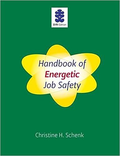 Handbook of Energetic Job Safety
