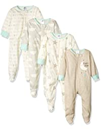 Gerber Unisex-Baby Baby 4-Pack Sleep 'N Play
