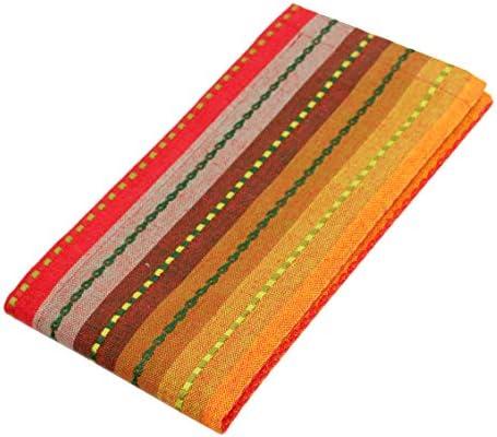 Cotton Craft Juego de 12 servilletas, 100% algodón, diseño de ...