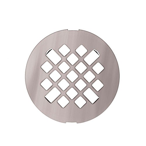 Metal Drain Covers - Swanstone DC00000MD.086 Metal Shower Floor Drain Cover, Stainless