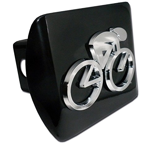 Elektroplate Cycling All Metal Black Hitch Cover