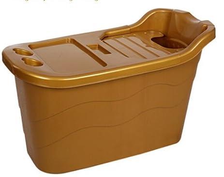 Large adult plastic bath bucket folding bath tub child bath tub ...