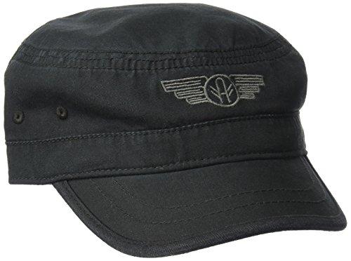 A. Kurtz Men's Wings Military Legion, Black, OSFA ()